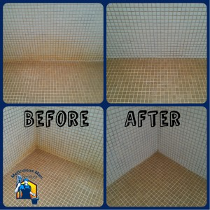Shower Tile - Before & After